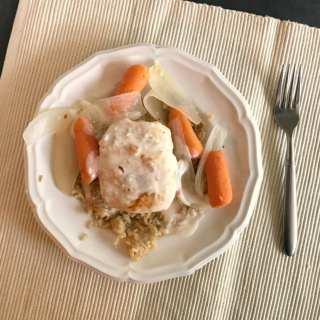 One Pot Creamy Chicken & Minute Rice