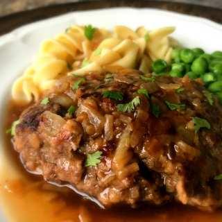 Salisbury Steak and Noodles