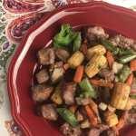 Honey Teriyaki Steak and Veggies