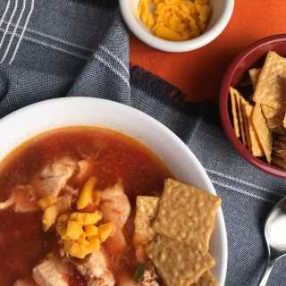 Simple Mexican Chicken Soup