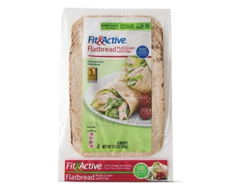 Fit&Active flatbreads that are low in Weight Watchers SmartPoints - Meal Planning Mommies
