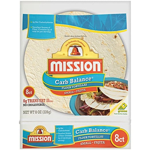 Tortillas low in WW SmartPoints - Meal Planning Mommies