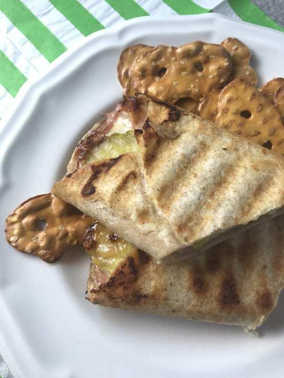 Weight Watchers friendly cuban panini sandwiches