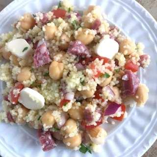 Light Italian-Style Couscous Salad