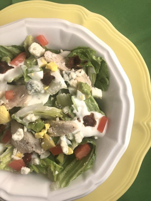 Weight Watchers friendly California Cobb Salad