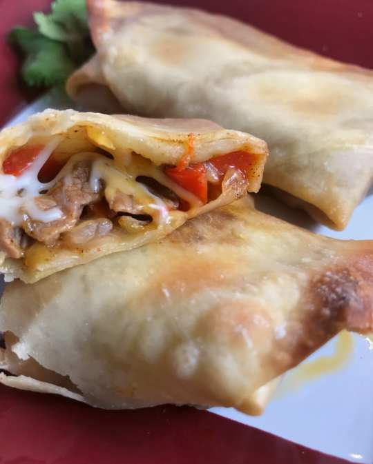 I absolutely love these Southwest Steak Egg Rolls. So easy and they taste amazing!