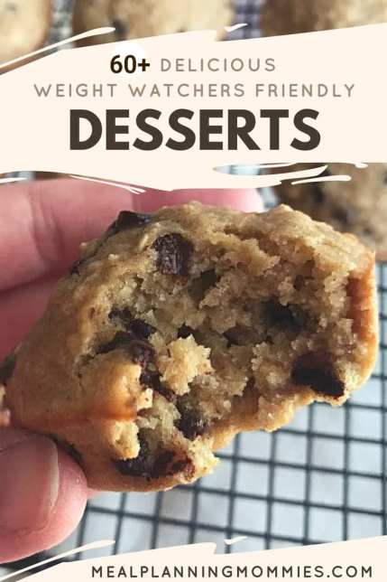 Over 60 delicious Weight Watchers desserts that are low in Smart Points.