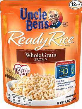Uncle Ben's Ready Rice Whole Grain Brown Rice - Perfect for Sweet and Sour Shrimp Stir Fry