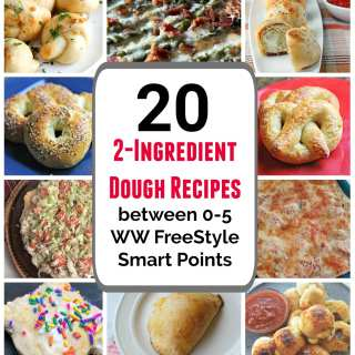 2-Ingredient Dough Recipes between 1-5 WW Smart Points