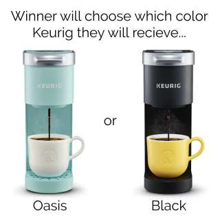 Pre-order for a chance to win a Keurig coffee maker.
