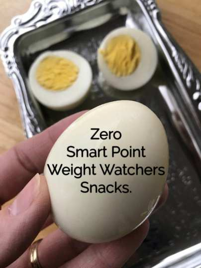 Weight Watchers snack recipes that are zero WW FreeStyle Smart Points per serving.