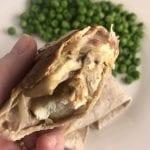 Swiss Mushroom Chicken Panini Wraps