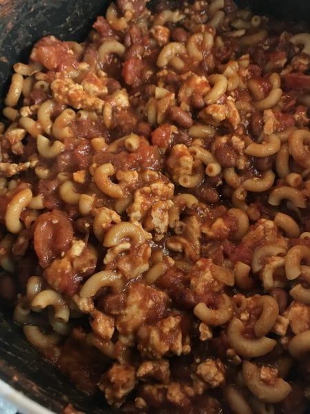 Hearty Chili Mac with Cheese for just 3 WW FreeStyle SP per serving!