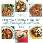WW friendly meal plan #47
