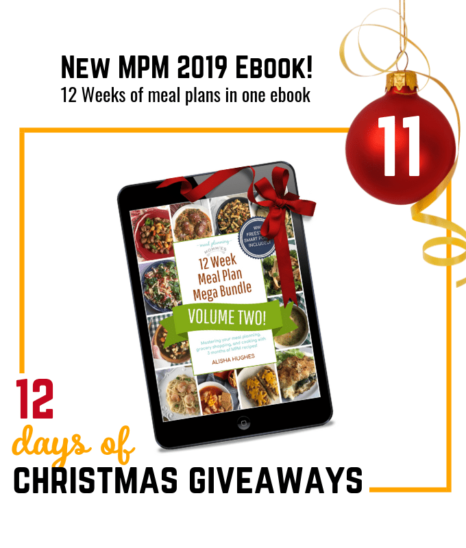 2019 Meal Planning Mommies ebook giveaway
