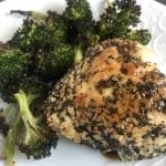 Double Seeded Chicken and Roasted Broccoli