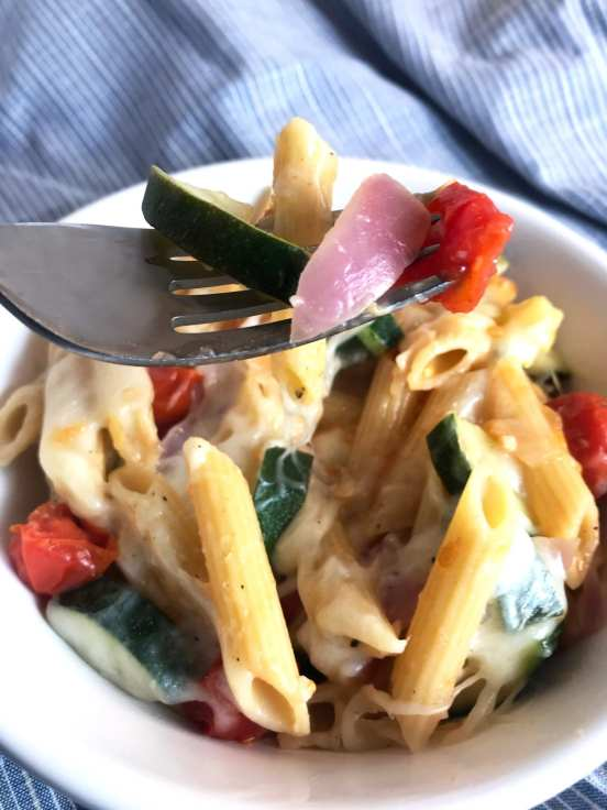 WW friendly Italian Penne and Veggies on Meal Planning Mommies.