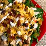 Southwest Chicken Bacon and Ranch Salad