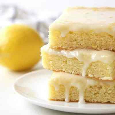 lemon cookie bar