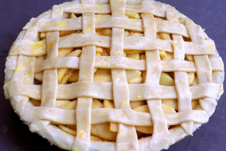 Pie Crust with Lattice