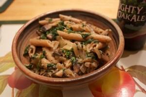 Portobello pasta