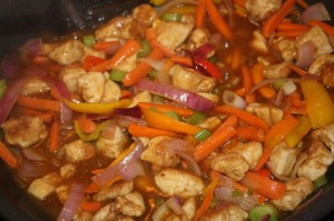 Orange Chicken with Vegetables
