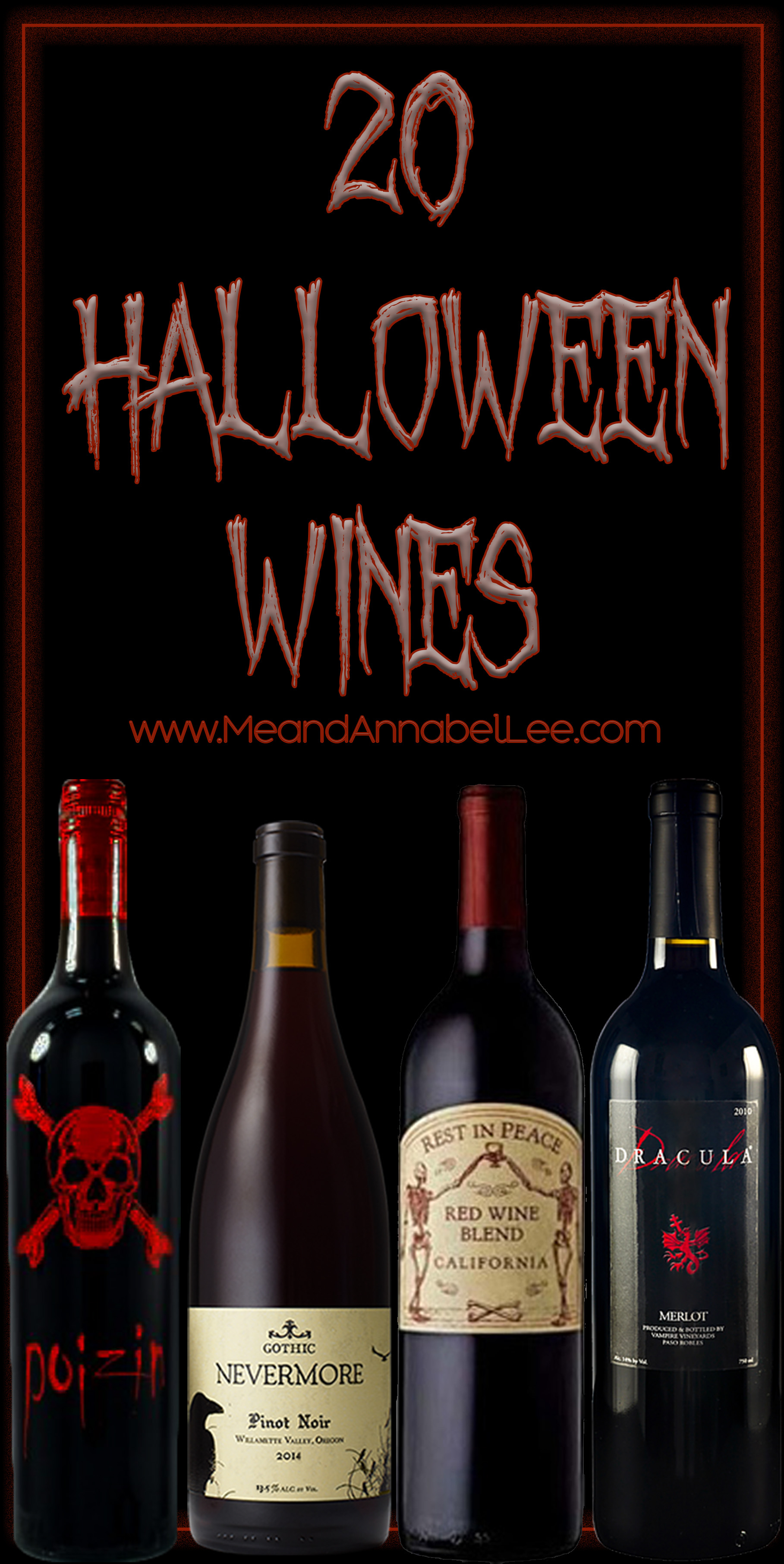 Gothic And Halloween Wines A Must Have List Of 20 Spooky