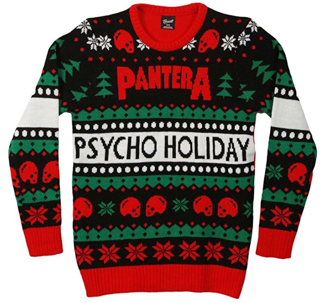 Creepy Christmas-Christmas-sweaters-creepy-women-red-rockabilly-dibilly-skull-Christmas hat-skull