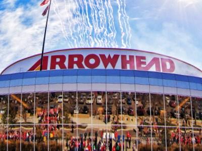49 Plane Flyover Arrowhead Stadium