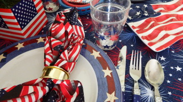Memorial Day Place Setting
