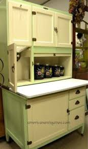 "Grandma had her flour and ""stuff"" in an old sideboard like this one."