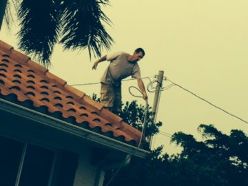 Balancing power washer hoses