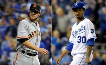Jake Peavy, Giants...Yordano Ventura, Royals