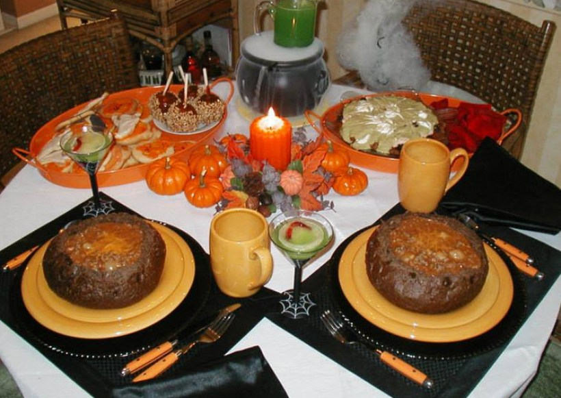 Halloween Dinner For Two