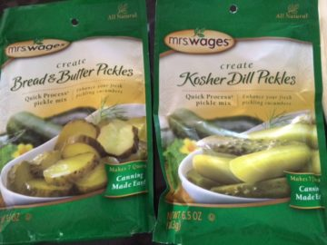 Mrs Wages pickle mixes