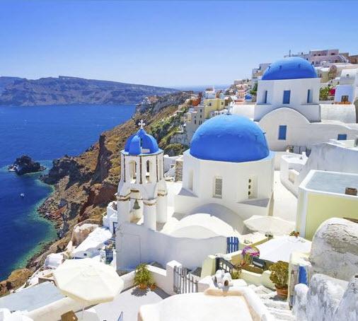 Greek Islands of Santorini