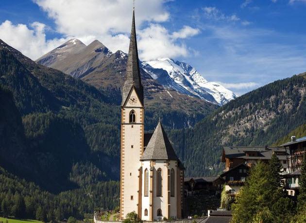 St. Vinzenz Church, Heiligenblut, Austria