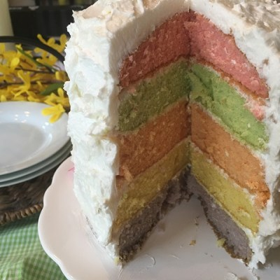 Ready For Spring Cake!