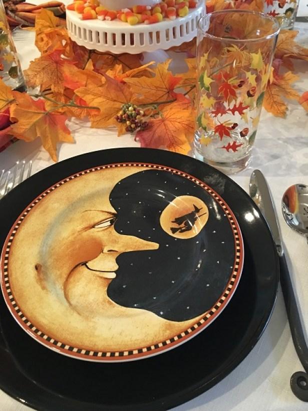 pumpkin hollow tablescape