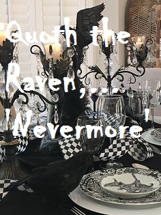 Quoth the Raven, 'Nevermore.'