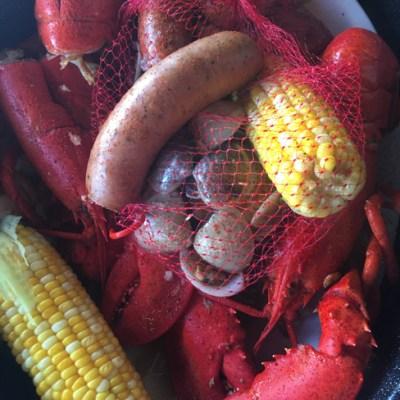 Coastal Florida Seafood Boil And Tablescape!