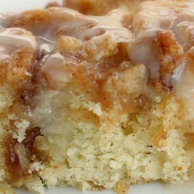 Cinnamon Roll Cake…Been Around For Years!