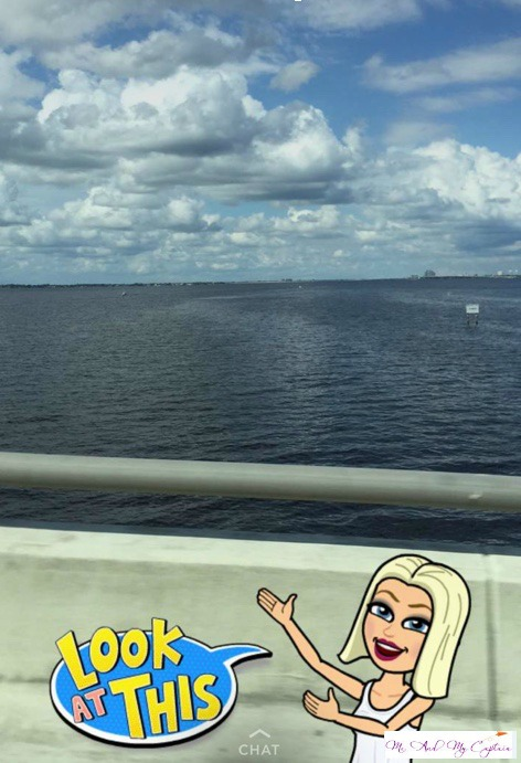 September born showing her pleasure of the gulf of mexico