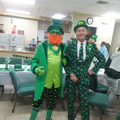 The Luck Of The Irish Mystery Dinner For The Elite Fleet!