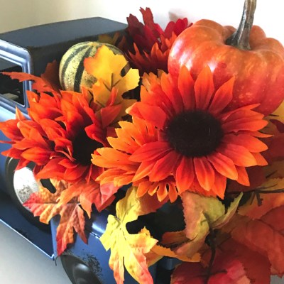 Fall Decorating In The Summertime When The Weather Is Hot!