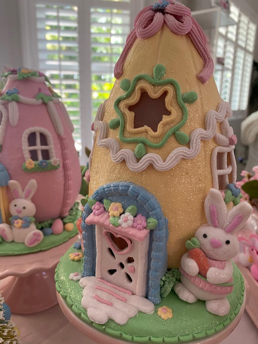 Easter egg houses