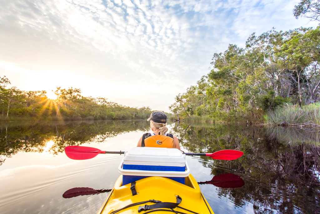 kayaking noosa everglades kayak tour overnight camping