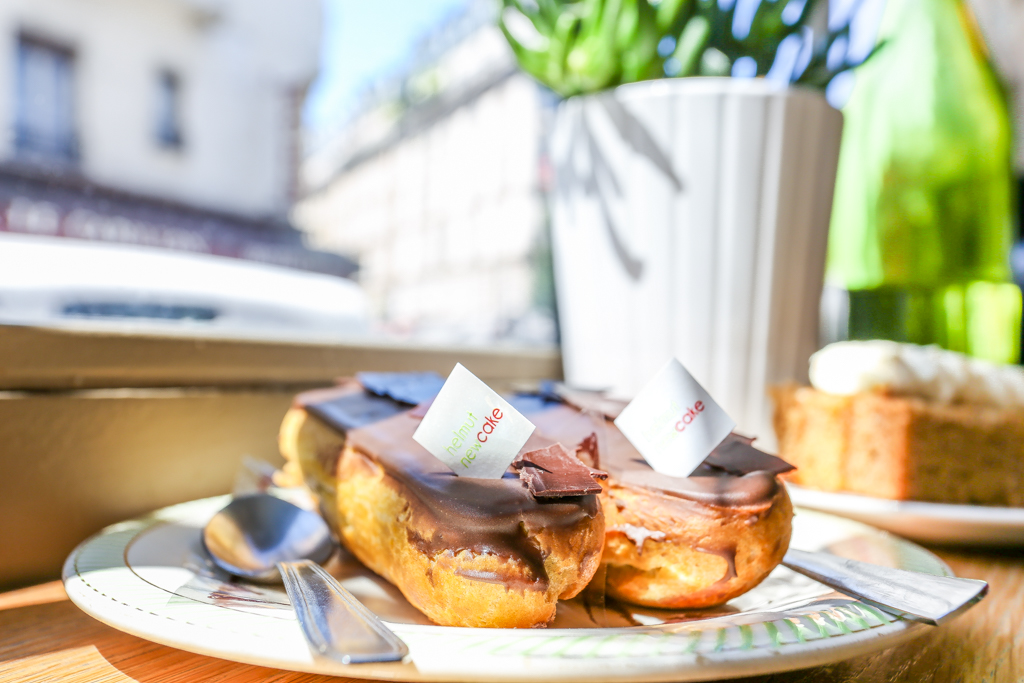 how to eat healthy in Paris Helmut Newcake