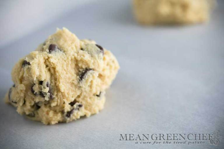 Bakery Style Chocolate Chip Cookies Recipe | Mean Green Chef | Melt in your mouth, Bakery Style Chocolate Chip Cookies. The perfect fusion of sweet and salty, a soft crunch on the outside and gooey on the inside. #chocolatechipcookies #cookierecipes #cookies #cookiedough #bakingrecipes #foodphotography #foodstyling #meangreenchef #MGCKitchens