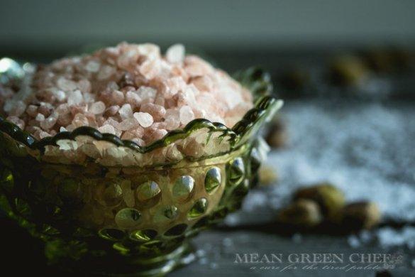 Pink Himalayan sea salt | Mean Green Chef